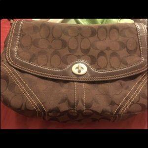 Coach bag brown chocolate 🍫 🍫